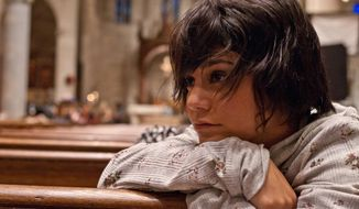 """This image released by Roadside Attractions shows Vanessa Hudgens in a scene from """"Gimme Shelter."""" (AP Photo/Roadside Attractions)"""