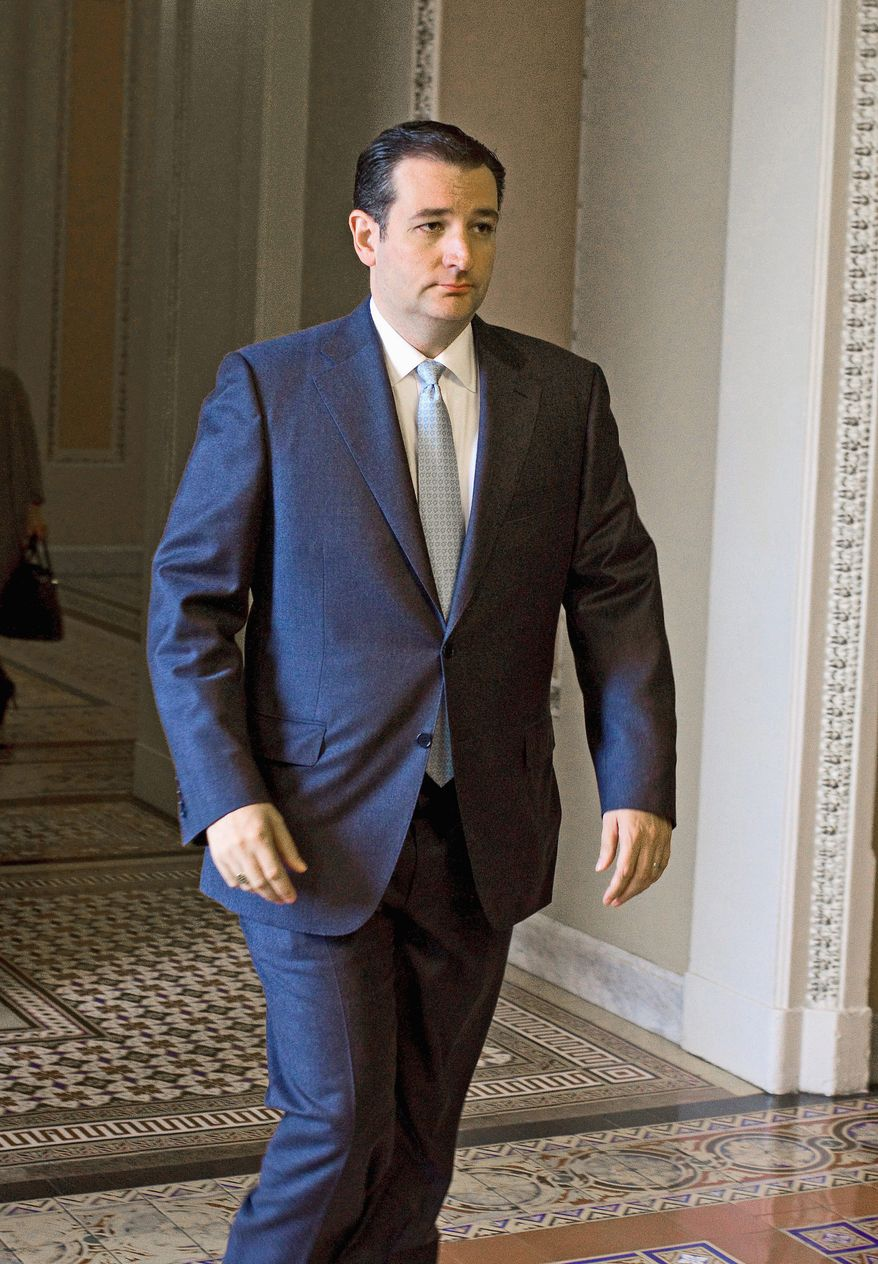 Sen. Ted Cruz is ready for the big top with the spectacle called the State of the Union scheduled next week. (Associated Press)