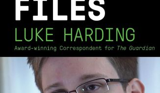 "This book cover image released by Vintage shows ""The Snowden Files: The Inside Story of the World's Most Wanted Man,"" by Luke Harding. Vintage Books announced Thursday that Harding's book will be released Feb. 11 as a paperback original. Harding is a foreign correspondent for the Guardian, the London-based newspaper that in June began publishing a series of articles on government surveillance based on documents leaked by Snowden, a former National Security Agency contractor. (AP Photo/Vintage)"