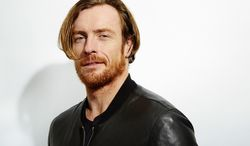 "This Oct. 15, 2013 file photo shows actor Toby Stephens posing for a portrait to promote his upcoming series ""Black Sails,"" in New York. The series starring Stephens, the son of actress Maggie Smith, premieres on Saturday, Jan. 25. (Photo by Dan Hallman/Invision/AP)"
