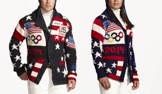 Ralph Lauren's Team USA Olympic Uniforms.