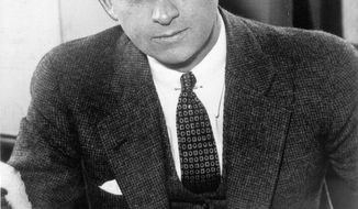 **FILE** This file photo shows Eliot Ness in Cleveland. Portrayed over the years by Kevin Costner and Robert Stack as an incorruptible hero, Ness' legend is now at risk, with some claiming his role in taking out Chicago mobster Al Capone is mythical. (Associated Press/The Plain Dealer)