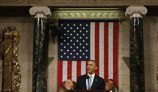 U.S. President Barack Obama delivers his State of the Union speech on Capitol Hill in Washington, January 28, 2014.  REUTERS/Larry Downing (UNITED STATES  - Tags: POLITICS)