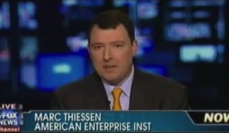 Former George W. Bush speechwriter and Washington Post columnist Marc Thiessen. (Twitter)