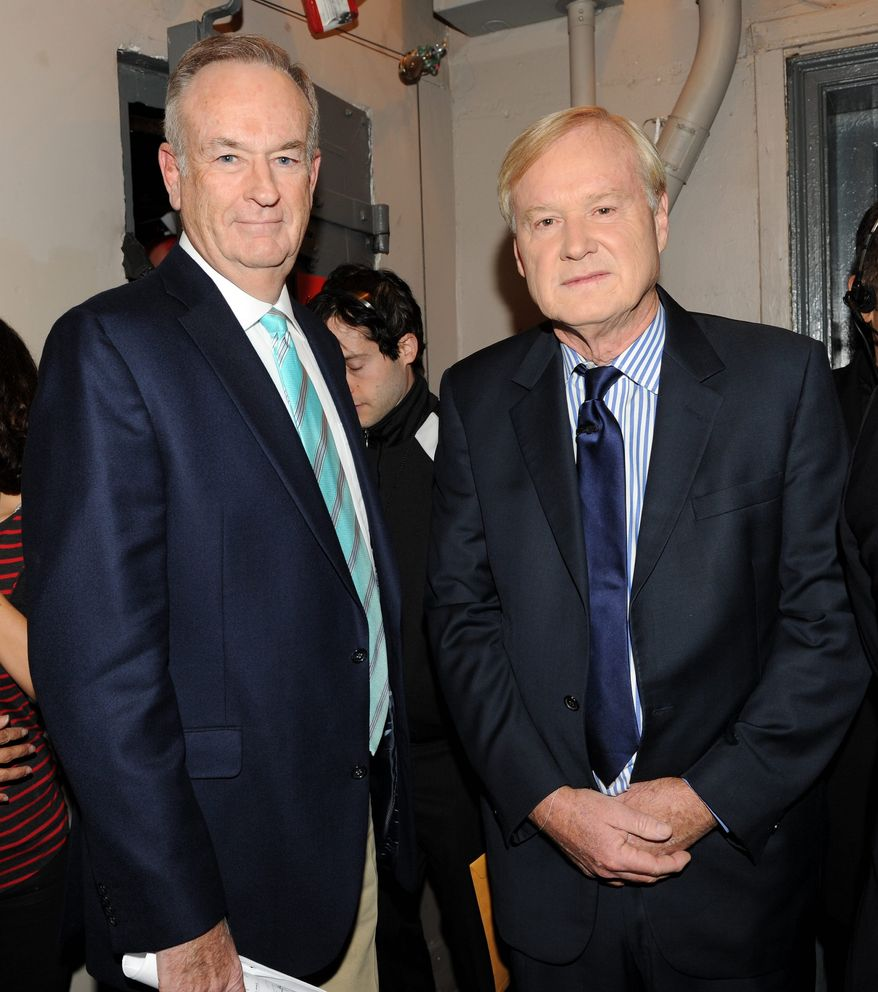Fox News host Bill O'Reilly would beat Comedy Central host Stephen Colbert in a 2016 presidential matchup, according to a Public Policy Polling survey. (ASSOCIATED PRESS)