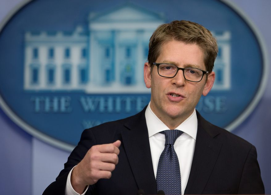 """We will not cede this important opportunity for American workers and businesses to our competitors,"" said White House press secretary Jay Carney."
