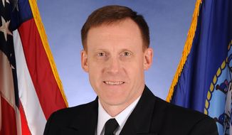 This Oct. 5, 2011, photo, provided by the U.S. Navy, shows Vice Adm. Michael Rogers. Defense Secretary Chuck Hagel is announcing that Rogers, the head of the Navy's Cyber Command, has been chosen to be the next chief of the troubled National Security Agency. Rogers, also a former intelligence director for the Joint Chiefs of Staff, is being nominated to replace Army Gen. Keith Alexander. (AP Photo.U.S. Navy)