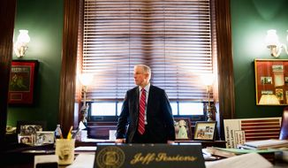 'ONE OF THE STRONGEST VOICES' Sen. Jeff Sessions, Alabama Republican, stands tall among conservative groups such as the Tea Party Nation, the American Conservative Union and the Club for Growth. (Andrew Harnik/The Washington Times)