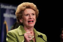 "Sen. Debbie Stabenow, Michigan Democrat, said the Senate can enact major reforms to farm programs and end ""outdated and unnecessary"" subsidies. (ASSOCIATED PRESS PHOTOGRAPHS)"
