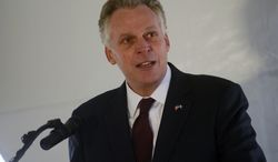 ** FILE ** Virginia Gov. Terry McAuliffe. (AP Photo/The Daily Times, Jay Diem)