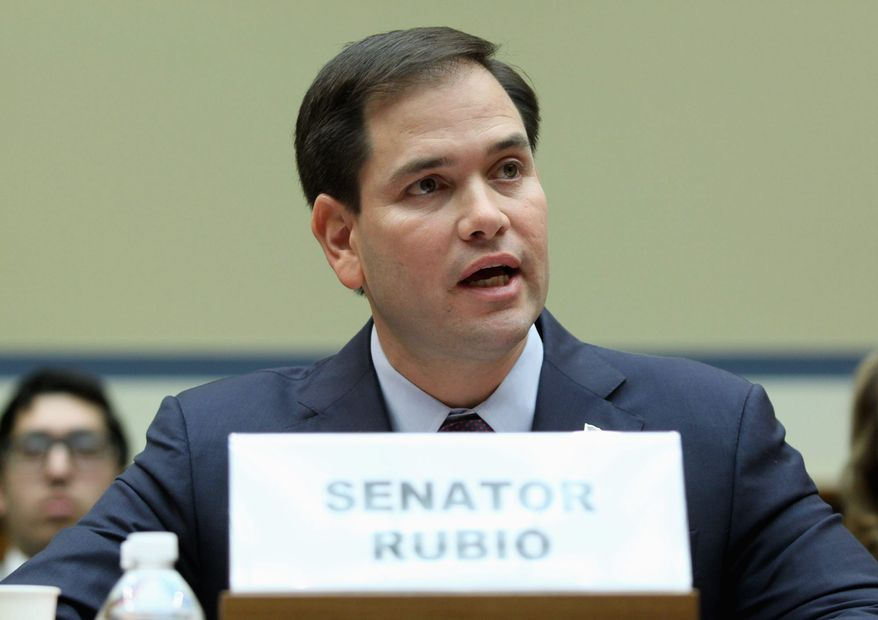 Sen. Marco Rubio, R-Fla. is one of six Republican senators joining a lawsuit that seeks to restrict Obamacare's insurance subsidies to states. (associated press)