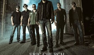 """This CD cover image released by Universal Nashville shows """"The Outsiders,"""" by Eric Church. (AP Photo/Universal Nashville)"""
