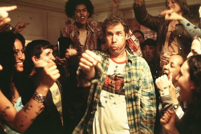 "Actor Will Farrell in the comedy ""Old School."""