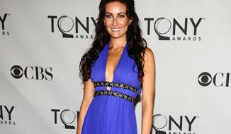 "FILE - This June 12, 2011 file photo shows actress Laura Benanti at the 65th annual Tony Awards in New York. Benanti, who won a Tony in the Broadway revival of ""Gypsy,"" has a new album titled, ""In Constant Search of the Right Attention.""  (AP Photo/Charles Sykes, File)"