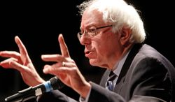 """""""This bill is a step forward but it doesn't go as far as it should,"""" said Sen. Bernard Sanders, Vermont independent, noting that benefits cuts have been erased for current veterans. He's also written a bill to boost spending for future veterans. (associated press)"""