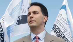 Wisconsin Gov. Scott Walker says his fellow Republicans are doing the party and the country a disservice if they aren't focused on the upcoming 2014 elections. (Associated Press)