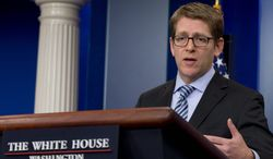 """""""Being a donor does not get you a job in this administration, nor does it preclude you from getting one,"""" said White House press secretary Jay Carney. President Obama came into office promising change. (ASSOCIATED PRESS)"""