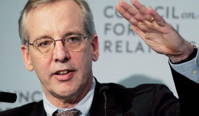 William Dudley, president of  the Federal Reserve Bank of New York, and vice-chairman of the Federal Open Market Committee, speaks at the Council on Foreign Relations, Thursday, May 24, 2012 in New York. (AP Photo/Mark Lennihan)