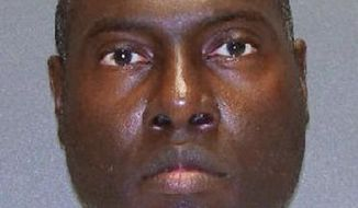 This handout image provided by the Texas Department of Criminal Justice shows Jerry Hartsfield. Hartsfield has been locked up for more than three decades for a slaying even though the state's top appeals court ruled in 1980 that Hartsfield, who is serving a life sentence, doesn't have a valid murder conviction. His attorneys are asking a state district judge to dismiss the charge and free him because his constitutional right to a speedy trial has been violated. (AP Photo/Texas Department of Criminal Justice)