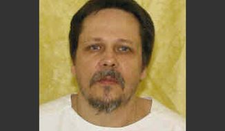 ** FILE ** This undated file photo provided by the Ohio Department of Rehabilitation and Correction shows Dennis McGuire. In Ohio, in January 2014, McGuire took 26 minutes to die after a previously untested mix of chemicals began flowing into his body, gasping repeatedly as he lay on a gurney. (AP Photo/Ohio Department of Rehabilitation and Correction, File)