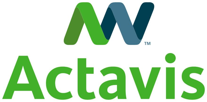 FILE - This photo provided by Actavis shows the company's logo. Actavis PLC plans to buy Forest Laboratories Inc. in an approximately $25 billion cash-and-stock combination that will create a drugmaker with a product portfolio that includes drugs like the Alzheimer's disease treatment Namenda. (AP Photo/Actavis, File)