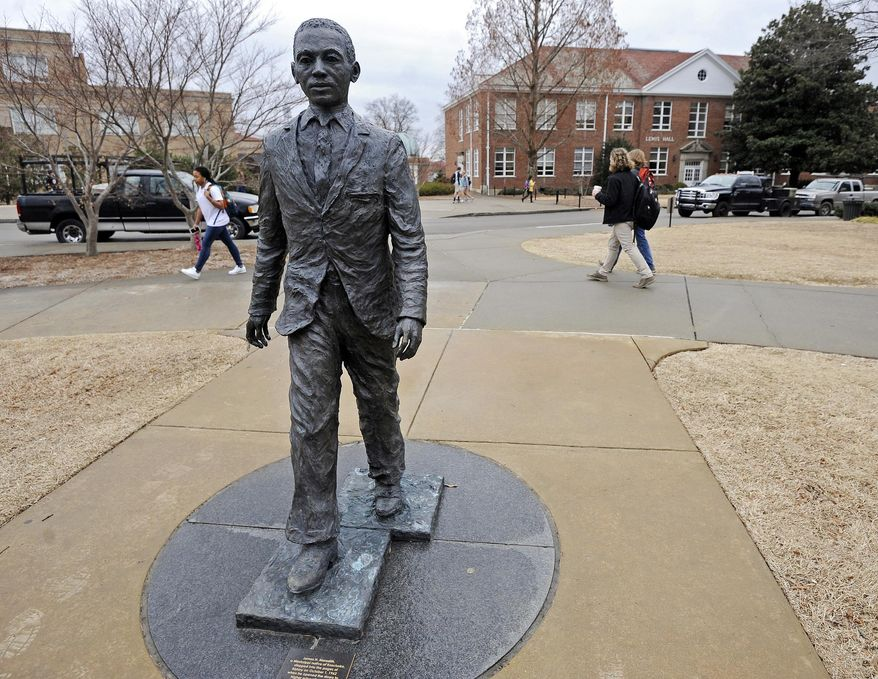The University of Mississippi campus in Oxford, Miss. (AP Photo/The Daily Mississippian, Thomas Graning)