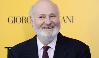 "This Dec. 17, 2013 file photo shows actor-director Rob Reiner at the premiere of ""The Wolf of Wall Street"" in New York. (Photo by Evan Agostini/Invision/AP, File)"