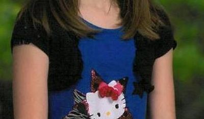 """This undated photo provided by Kansas Bureau of Investigation shows 10-year-old Hailey Owens. Craig Michael Wood was charged Wednesday, Feb. 19, 2014, with first-degree murder in the death of a 10-year-old girl. A body believed to be that of Hailey Owens was found Wednesday at the home owned by Wood, Police Chief Paul Williams said at a news conference. Official confirmation won't occur until after an autopsy, but Police Chief Paul Williams said """"we have a high degree of confidence"""" in the preliminary identification. He did not disclose the child's cause of death. (AP Photo/Kansas Bureau of Investigation)"""