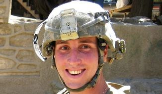 Army 1st Lt. Jonathan P. Brostrom, 24, was killed in Afghanistan in 2008 in the battle of Wanat. Critics of the M4 have long pointed to that battle as evidence that the rifle's design is flawed. (U.S. Army)
