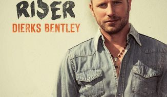 "This CD cover image released by Capitol Nashville shows ""Riser,"" by Dierks Bentley. (AP Photo/Capitol Nashville)"