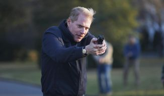 "This image released by FX shows Noah Emmerich as FBI Agent Stan Beeman in a scene from the first season of ""The Americans."" The second season of the series premieres on Feb. 26, 2014 at 10 p.m. EST. (AP Photo/FX, Craig Blankenhorn)"