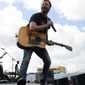"Dierks Bentley takes another artistic gamble by delving into love of family and the darker side of life on his seventh major-label studio album, ""Riser."" His off-center introspectiveness, however, is lightened up with the goofy country party song ""Back Porch"" as well as ""Drunk on a Plane."" (Invision via associated press)"