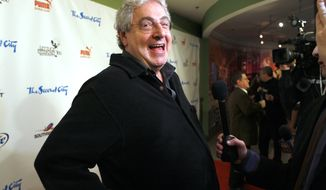 Actor/Director Harold Ramis laughs as he walks the Red Carpet  to celebrate The Second City's 50th anniversary Saturday, Dec. 12, 2009, in Chicago. (AP Photo/Jim Prisching)