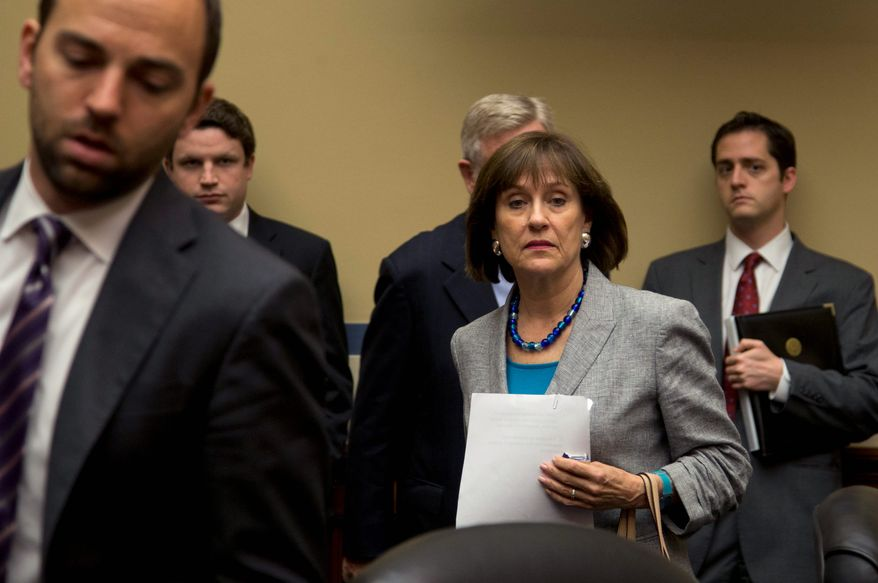 IRS  employee Lois G. Lerner testified in May for a House Oversight and Government Reform Committee hearing, where she asserted her Fifth Amendment right to avoid self-incrimination and proclaimed her innocence. (Associated Press)