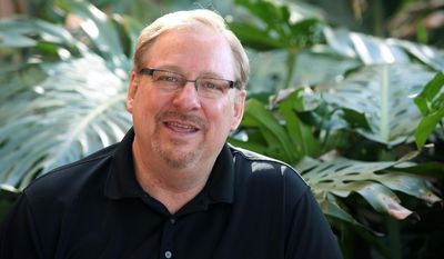 In a letter to Pope Francis, Pastor Rick Warren of Saddleback Church in Lake Forest, Calif., is among the conservative signatories and professors who say marriage appears threatened in the contemporary world. The Synod of Bishops is scheduled to meet on family and marriage issues from Oct. 5-19 at the Vatican.