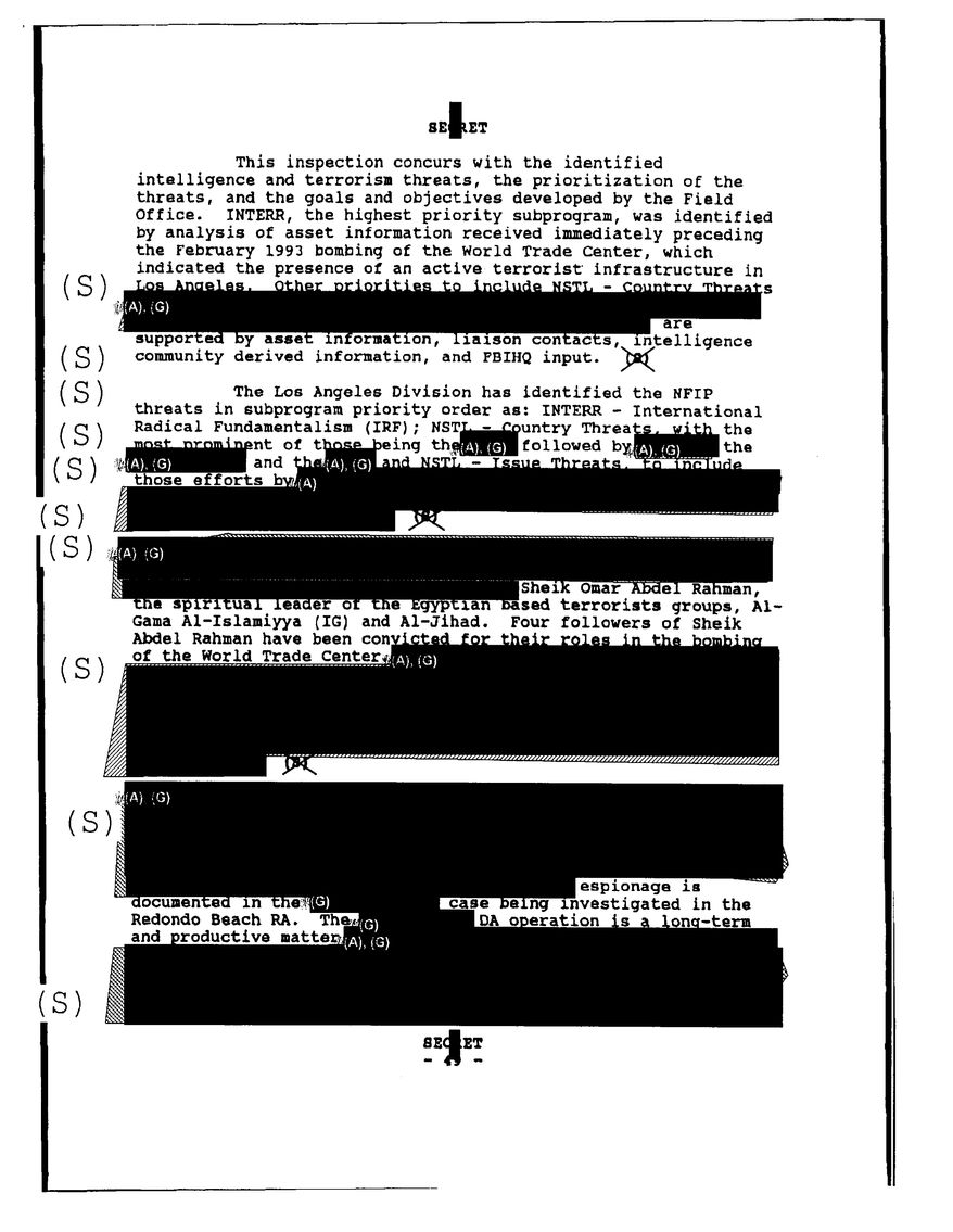 FBI document provides new details about the possibility that the U.S. could have infiltrated Al-Qaeda much earlier than previously reported.