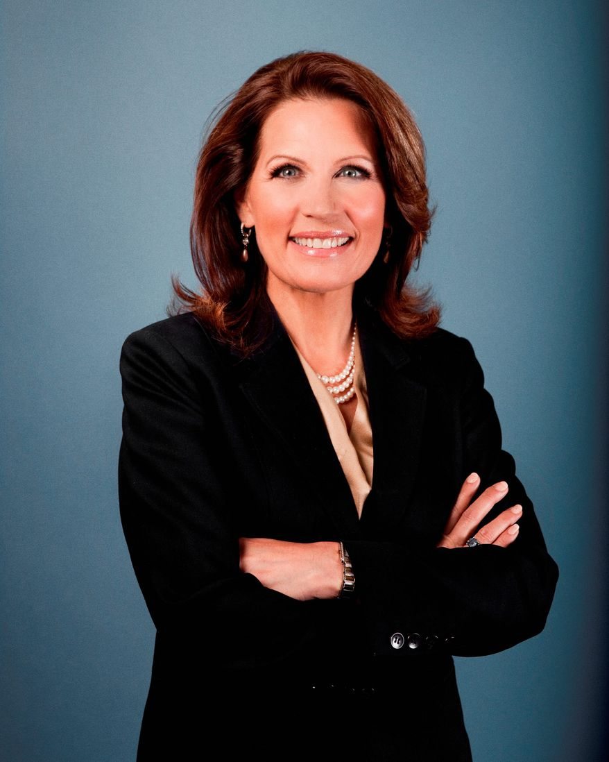 Rep. Michele Bachmann is among 10 lawmakers who will assemble to celebrate the tea party on Thursday, marking the grass root movement's fifth anniversary. (Associated Press)