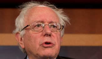 ** FILE ** Sen. Bernard Sanders, Vermont independent (AP Photo/Jacquelyn Martin, File)'