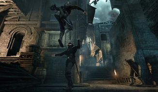 "This image released by Square Enix shows a scene from ""Thief."" (AP Photo/Square Enix)"