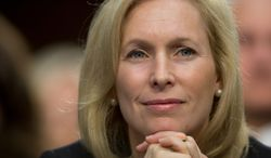 Sen. Kirsten Gillibrand, New York Democrat, is confident her military sexual assault bill proposal will get enough support to clear a filibuster. (Associated Press)