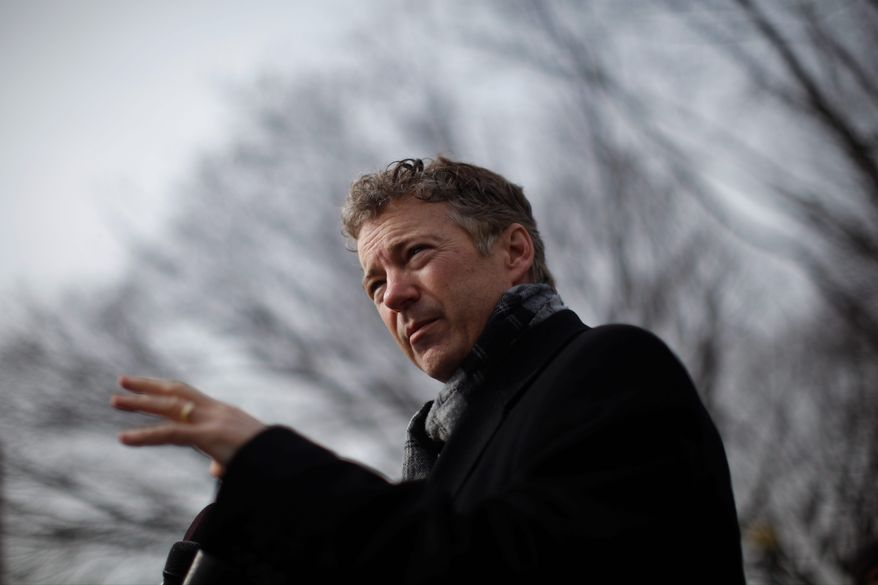 Sen. Rand Paul may be seeking to hold on to his seat at the same time he is running for president in 2016. The Kentucky Senate majority leader confirmed Monday that he is working on an unambiguous bill that would allow Mr. Paul to do so.