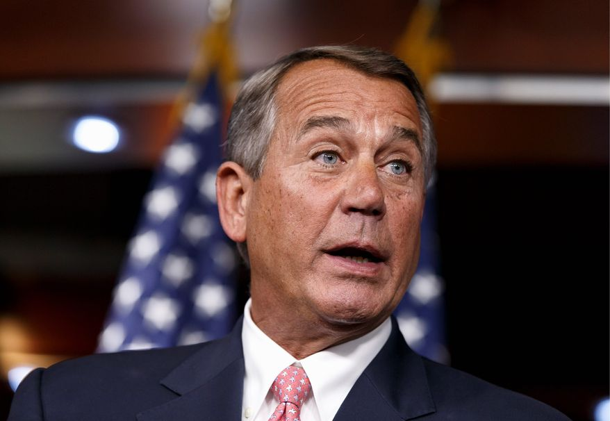 House Speaker John A. Boehner, who once embraced the tea party and was a regular at CPAC, is now an outsider with no invitation to the event. (Associated Press)