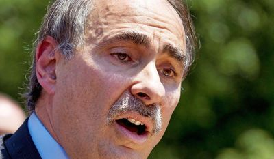 "Senior political adviser David Axelrod told CBS' ""This Morning"" that voters will make their judgments based on President Obama's actions, not his words. (Associated Press)"