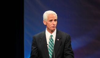 changed man: Charlie Christ is seeking to regain his seat as Florida governor after switching parties and going back and forth on key issues over the years. (Associated Press)