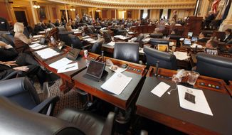 The House of Delegates at the State Capitol in Richmond. (AP Photo/Richmond Times-Dispatch, Bob Brown)