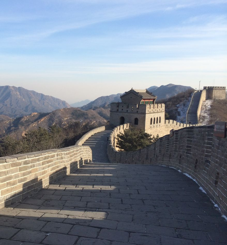 Chinese authorities have established a designated graffiti area on the Great Wall in efforts to curb tourists from further damaging the ancient monument. (The Washington Times: Jessica Chasmar)