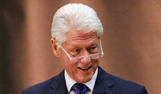 ** FILE ** Former President Bill Clinton. (Associated Press)