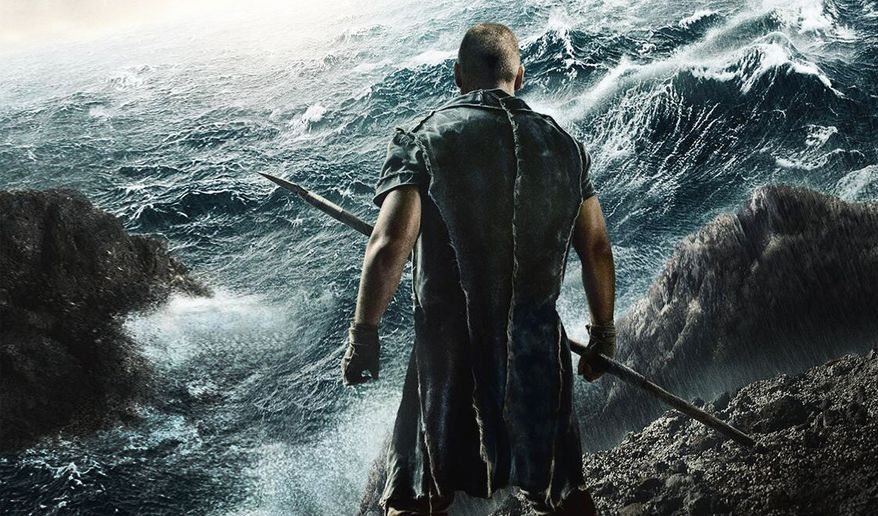 """Censorship boards across the Muslim world have banned the release of Darren Aronofsky's new Biblical epic """"Noah,"""" because of claims that the film violates Islamic law. (Paramount Pictures)"""
