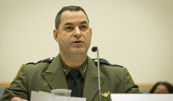 Customs and Border Protection Chief of the Border Patrol Michael Fisher testifies at a House Judiciary Committee on Credible Fear and Asylum. (James Tourtellotte/Customs and Border Protection)