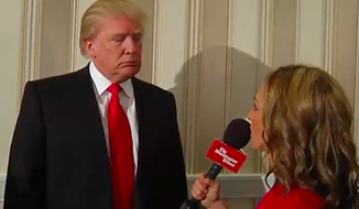 Donald Trump, the real estate developer, interviewed by Emily Miller at CPAC 2014.